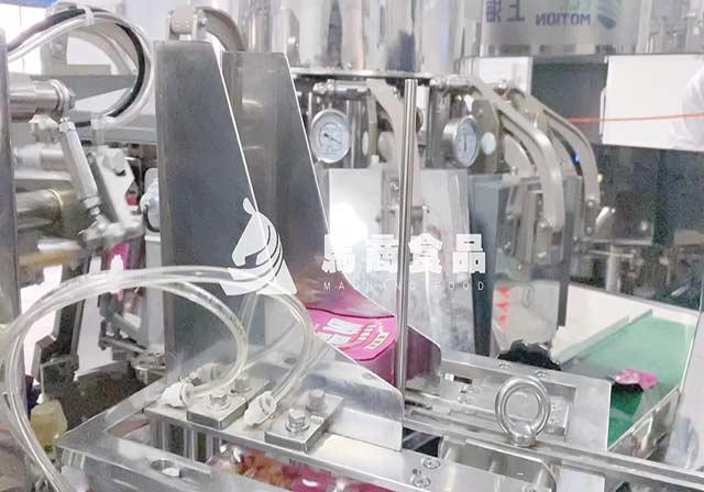 脱骨鸭掌独立小包装工厂自动化生产加工视频